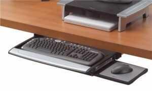 Bandeja de teclado Deluxe Office Suites Fellowes