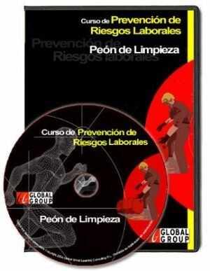 Curso Interactivo de Prevención de Riesgos de Peón de Limpieza