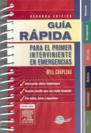 Guía rápida de bolsillo para el primer interviniente en emergencias