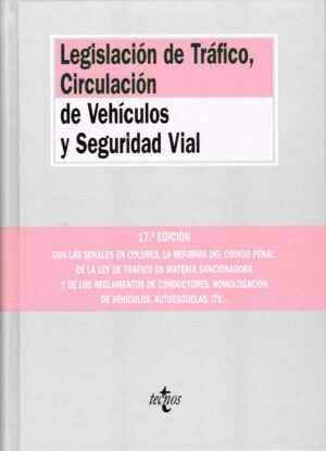 Legislación de tráfico, circulacion de vehículos y seguridad vial