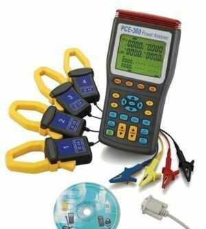 Medidor de potencia de tres fases PCE-360