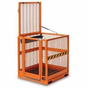 Plataforma de trabajo para apiladores y carretillas elevadoras