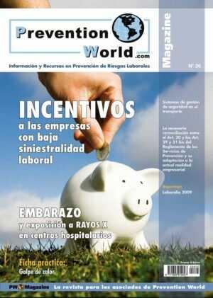 Revista Prevention World Magazine. Número 26 (Julio-Agosto 2009)