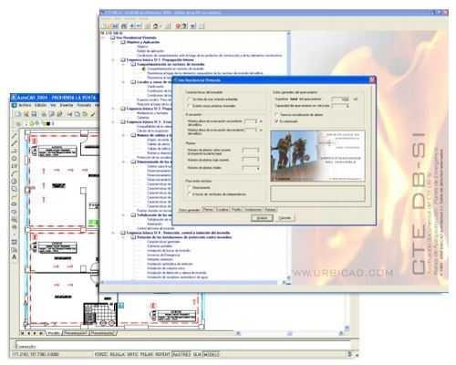 UrbiCAD CTE DB-SI/Planes de Autoprotección-0