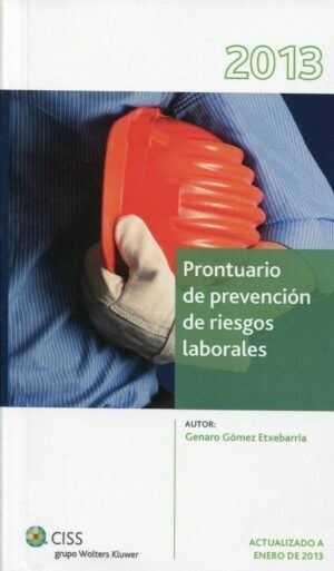 Prontuario de Prevención de Riesgos Laborales