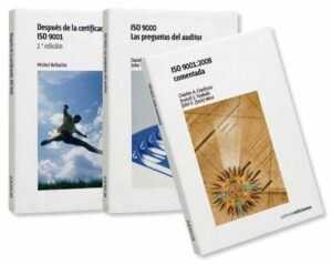 Oferta pack 3 libros clave sobre la ISO 9001 en todas sus fases