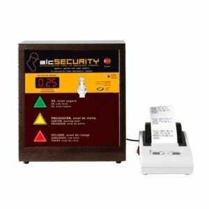 Alcoholímetro profesional industrial para la seguridad laboral con impresora