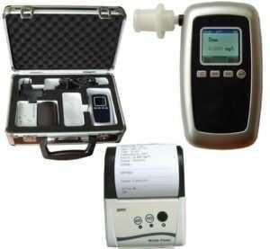 Etilómetro policial con sensor electroquímico CDP 8100