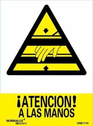 ¡Atención! a las manos