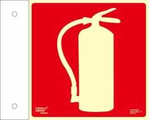 Extintor banderola
