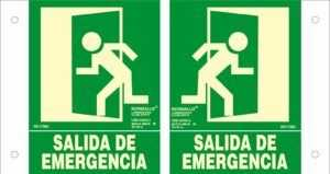Salida de emergencia panorámica