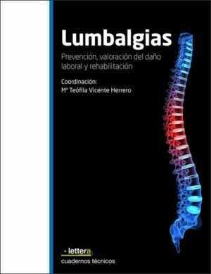Lumbalgias. Prevención, valoración del daño laboral y rehabilitación.
