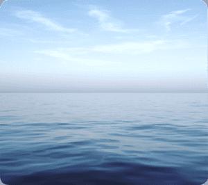 Alfombrilla Ecológica Océano azul Fellowes