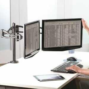 Brazo Doble para monitor Professional Fellowes