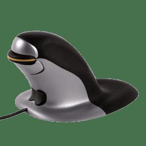 Ratón Ergonómico Vertical Ambidiestro Penguin – con cable Fellowes