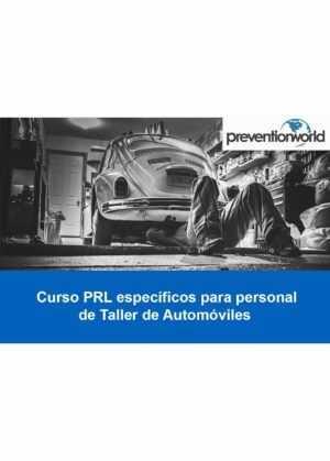 Tutorial Prevención de Riesgos Laborales en Talleres de Automóviles