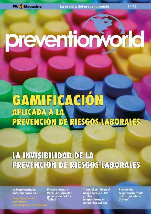 Imagen del archivo descargable sobre Prevención de Riesgos Laborales: Revista Prevention World Magazine en PDF. Número 72