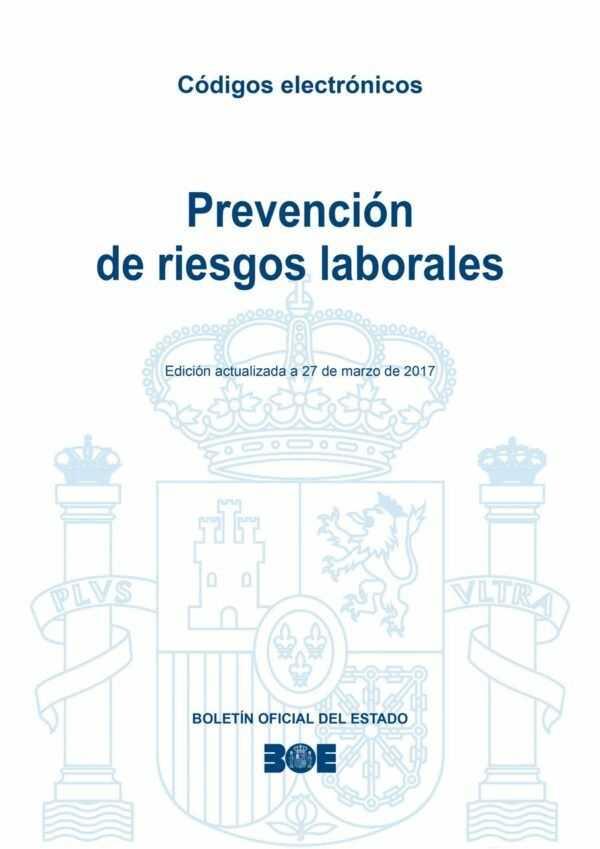 Imagen del archivo descargable sobre Prevención de Riesgos Laborales: Compendio legislativo de Prevención de riesgos laborales