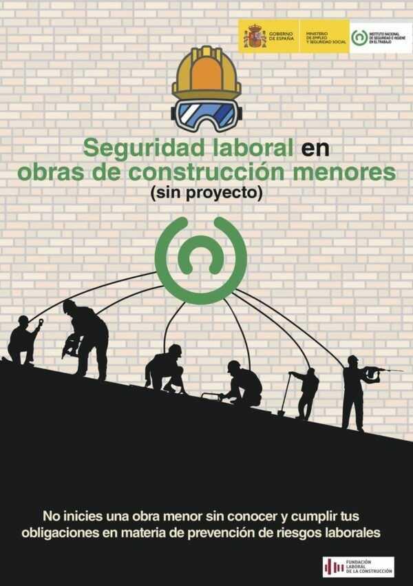 Imagen del archivo descargable sobre Prevención de Riesgos Laborales: Seguridad laboral en obras de construcción menores (sin proyecto)