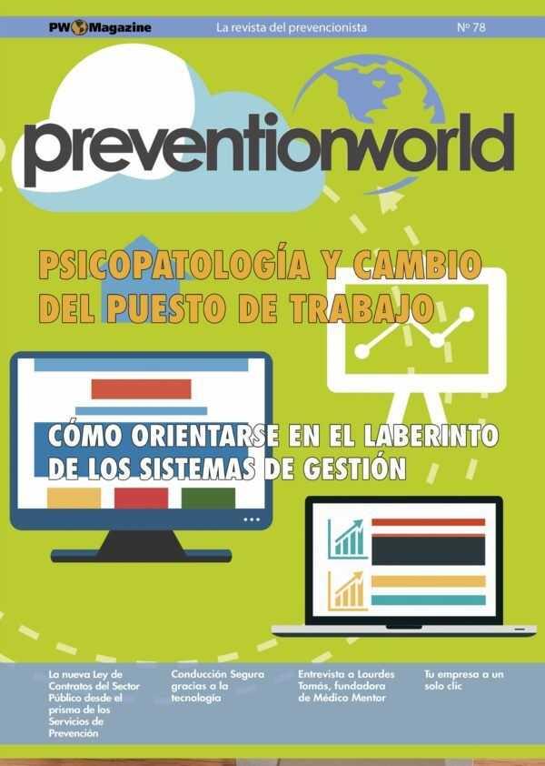 Imagen del archivo descargable sobre Prevención de Riesgos Laborales: Revista Prevention World Magazine en PDF. Número 78