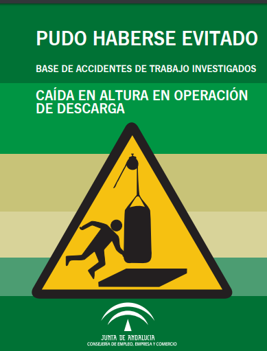Imagen del archivo descargable sobre Prevención de Riesgos Laborales: Pudo haberse evitado Nº 61, Abril de 2018. Caída en altura en operación de descarga