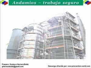 Andamios – Trabajo Seguro