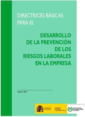 Directrices básicas para el desarrollo de la Prevención de Riesgos Laborales en la empresa
