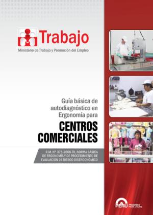 Guía Básica de Autodiagnóstico en Ergonomía para Centros Comerciales