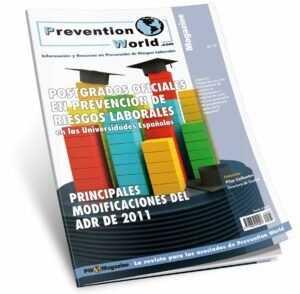 Revista Prevention World Magazine. Número 37