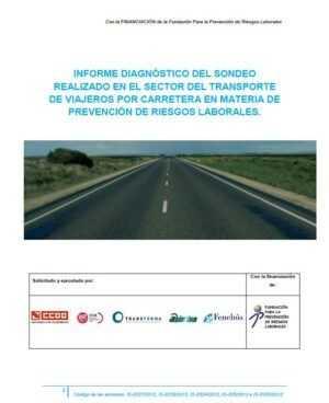 Informe diagnóstico del sondeo realizado en el sector de transporte de viajeros carretera en materia de PRL
