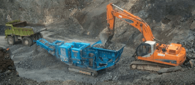 Muere un trabajador atrapado por una máquina en una cantera en Fontcalent
