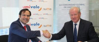 umivale firma un acuerdo de colaboración con la Asociación para el Progreso de la Dirección