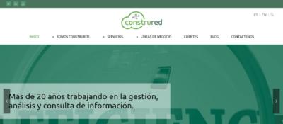 Construred lanza su nueva web, más intuitiva y accesible
