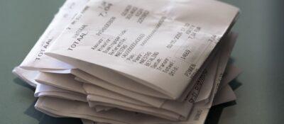 Los tickets de la compra en los que se borra la tinta contienen bisfenol-A