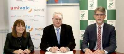 umivale firma un convenio de colaboración con el Colegio Oficial de Farmacéuticos de Gipuzkoa