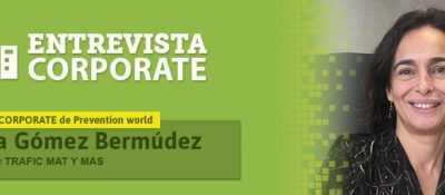 Nuria Gómez, Trafic Mat y Mas: Nuestro objetivo es mejorar la calidad de vida de los trabajadores, proporcionándoles seguridad y confort en el trabajo diario